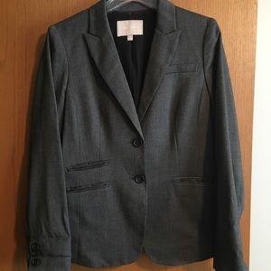 Banana Republic size 12 dark grey blazer